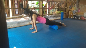 Up Dog with Iyengar yoga